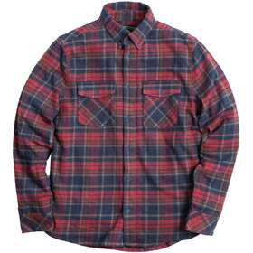 United By Blue The Responsible Flannel Top Hombre, brownstone